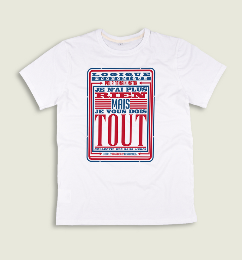 T-shirt made in france